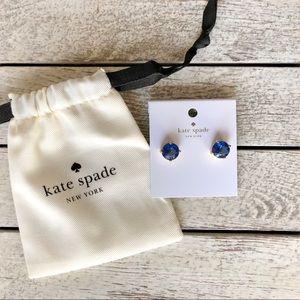 🎀 Blue Kate Spade Stud Earrings 🎀
